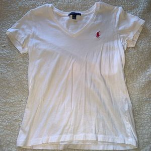 White Ralph Lauren T-shirt